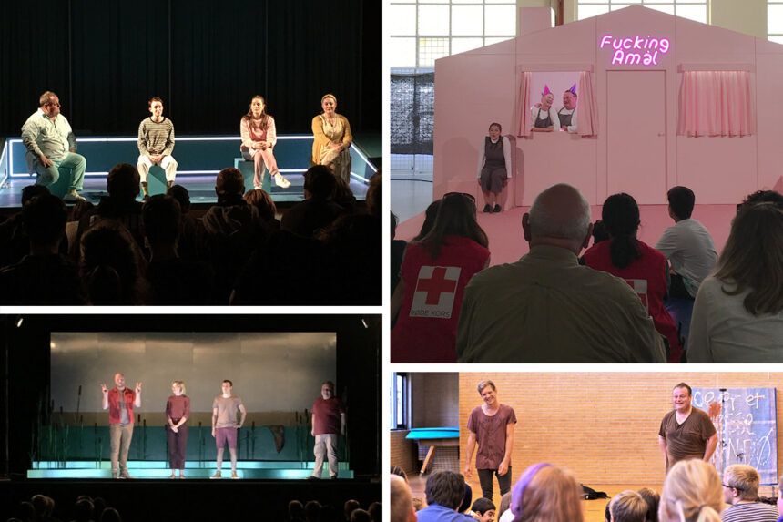 Teater for alle, om du er LGBTQ+ eller ej. Aftertalks på skoler.