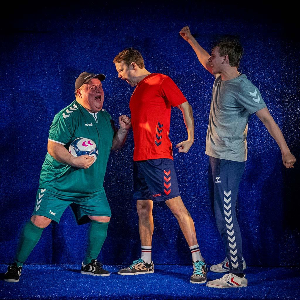 OFFSIDE - René Benjamin Hansen, Peter Schlie og Mathias Bøgelund