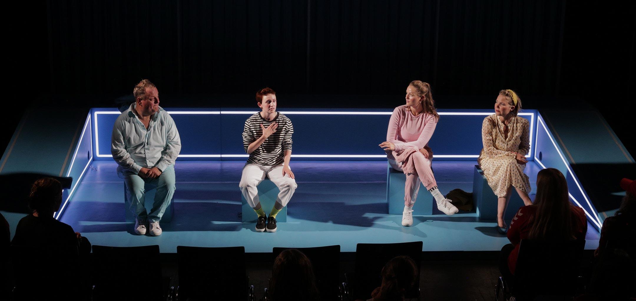 Aftertalk: René Benjamin Hansen, Mio Trond Lambers, Rikke Westi og Tine Gotthelf